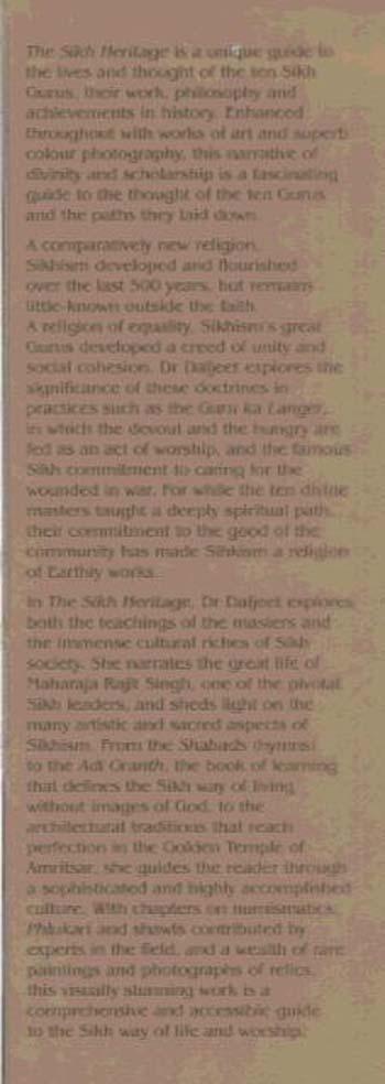 The Sikh Heritage (Hardback)