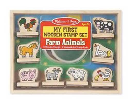 My First Stamp Set - Farm Animals