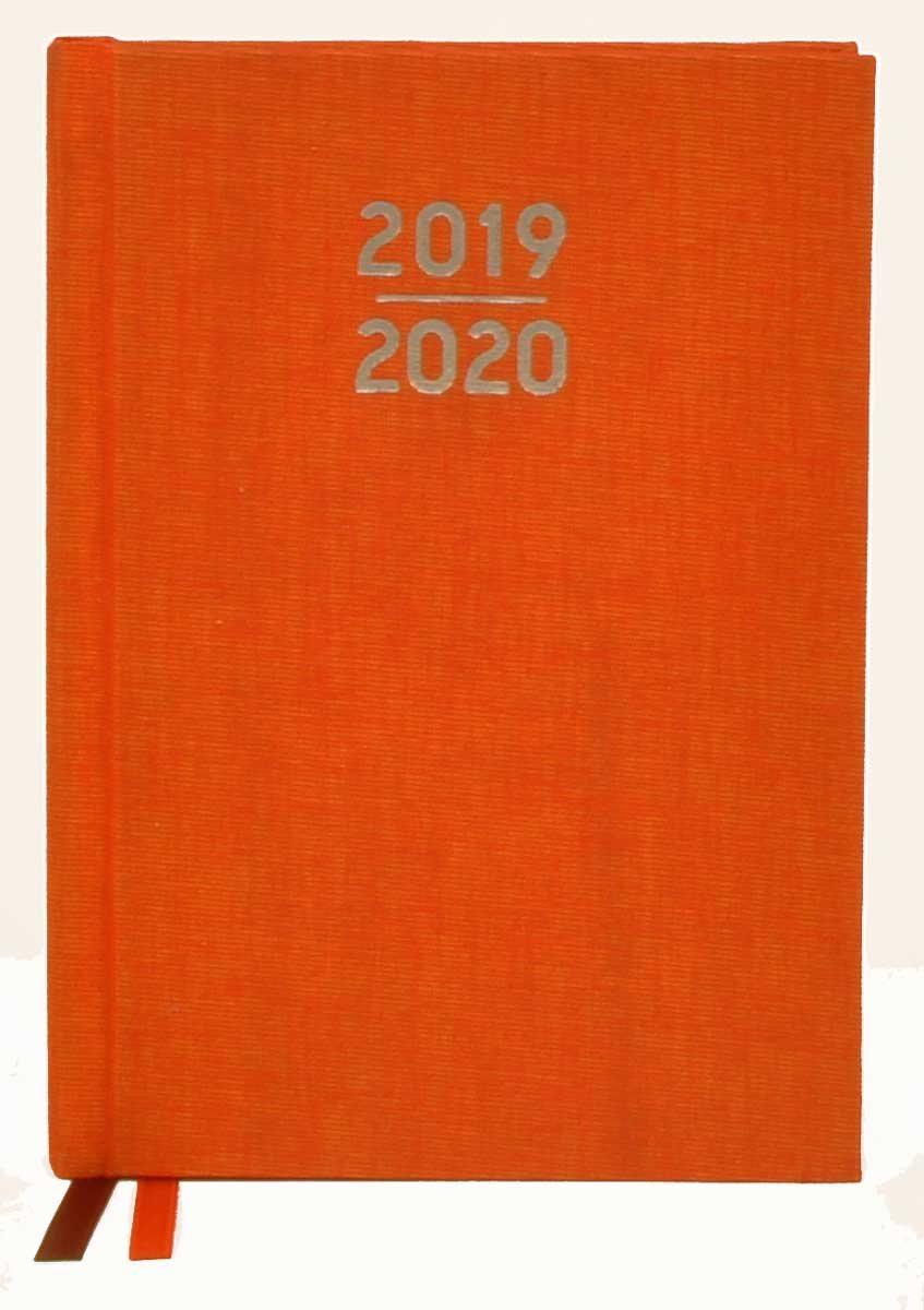 Waterstones Signature Orange Pocket Diary 2019-2020 (Diary)