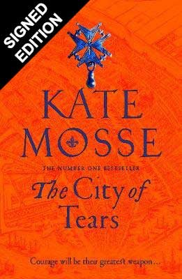 The City of Tears: Signed Edition - The Burning Chambers (Hardback)