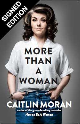 More Than a Woman: Signed Exclusive Edition (Hardback)