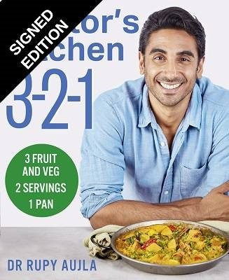 Doctor's Kitchen 3-2-1: 3 Portions of Fruit and Veg, Serving 2 People, Using 1 Pan: Signed Edition (Paperback)