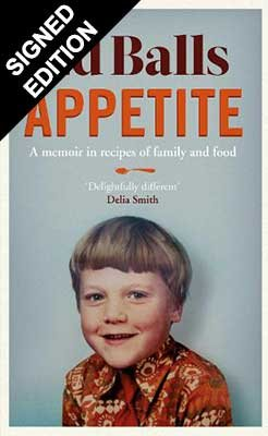 Appetite: A Memoir in Recipes and Family and Food - Signed Edition (Hardback)