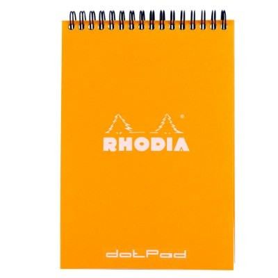 Rhodia Orange Dot Reporter Pad