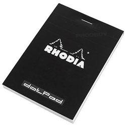 Dotpad Rhodia Black A5 Matrix Dots