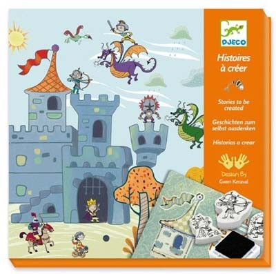 Knights Stamp Kit - Create Stories