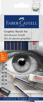 Graphite Pencil Sketch Set