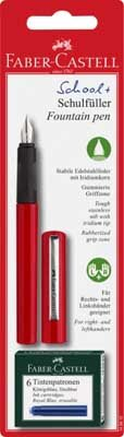 Faber And Castell Red Fountain Pen