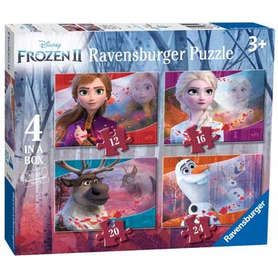 Frozen 2 4 In A Box  Puzzle