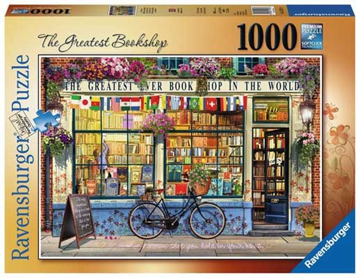 The Greatest Bookshop 1000pc Jigsaw Puzzle