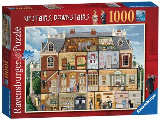 Upstairs Downstairs 1000pc Jigsaw Puzzle