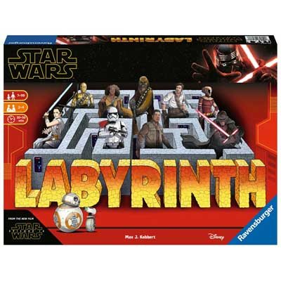Star Wars IX The Rise of Skywalker Labyrinth - The Moving Maze Game