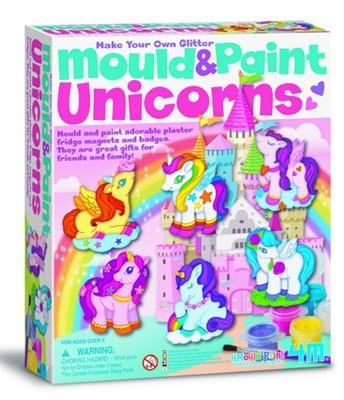 Mould & Paint Glitter Unicorn