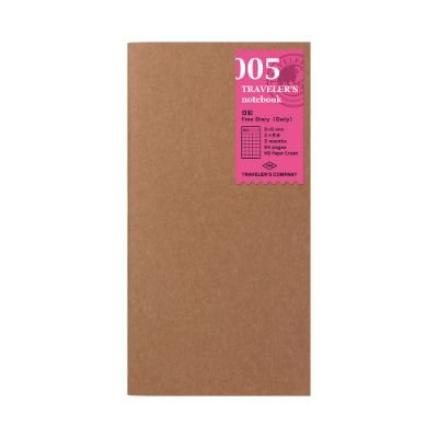 Traveler's Free Daily Notebook Refill 005
