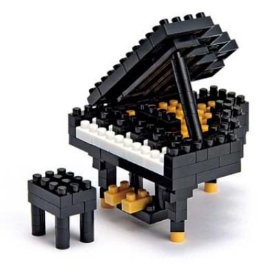 Nanoblock Musical Instruments - Grand Piano