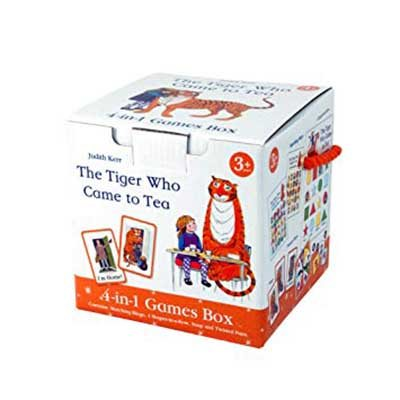 Tiger Who Came To Tea 4 In 1 Game Cube