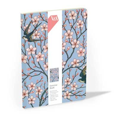 Almond Blossom & Swallow Exercise Book