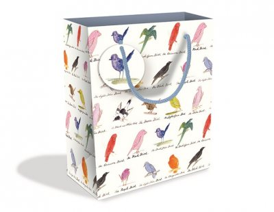 Edward Lear Birds Medium Gift Bag