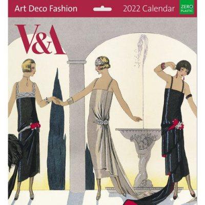 2022 Art Deco Wall Calendar (Calendar)