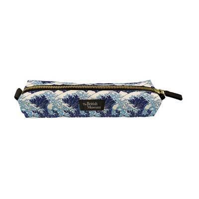 Hokusai Wave Pencil Case
