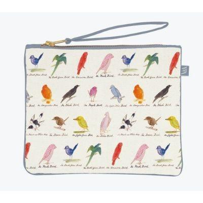 Edward Lear Birds Cloth Pouch