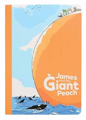 James & The Giant Peach Set Of 2 A5 Exercise Books