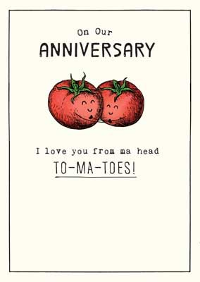 Click to view product details and reviews for From Ma Head To Ma Toes Anniversary Card.