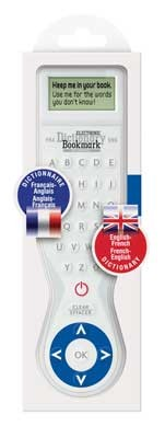 Electronic Dictionary Bookmark Bilingual - FRENCH