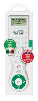 Electronic Dictionary Bookmark Bilingual - ITALIAN