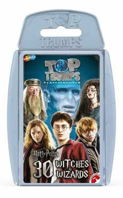 Harry Potter Witches And Wizards Top Trumps