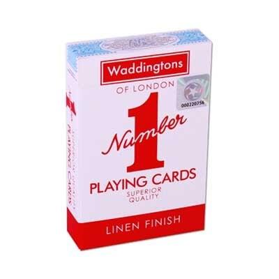 Waddingtons No 1 Playing Cards