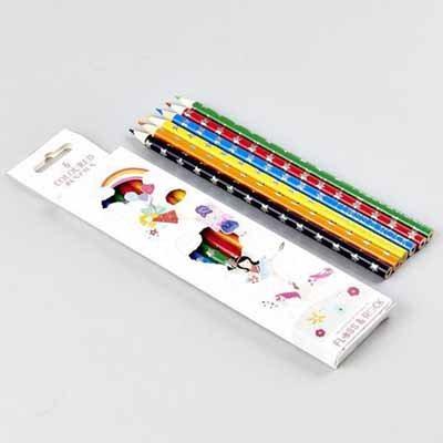 Fairy Unicorn Pack Of 6 Pencils