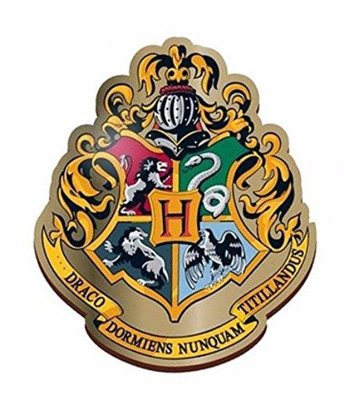 Harry Potter Enamel Badge - Hogwarts