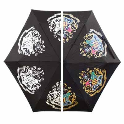 Hogwarts Crest Colour Changing Umbrella