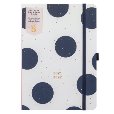 Blue Spots Dtp Mid Year Diary2021/22 (Diary)