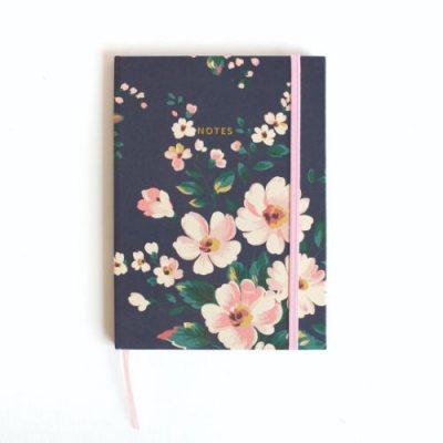 Navy Floral Cath Kidston A5 Notebook