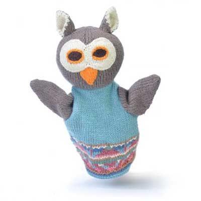 Owl Hand Puppet