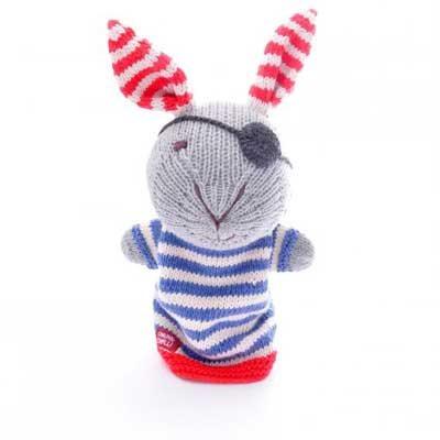 Pirate Rabbit Hand Puppet