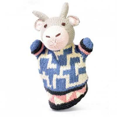 Fresian Cow Hand Puppet