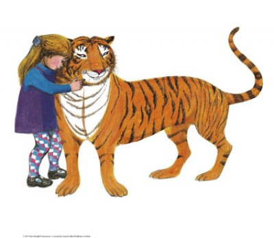 Tiger and Sophie Mini Print