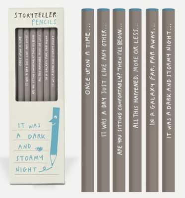 Storytellers - Sharp & Blunt Pencils
