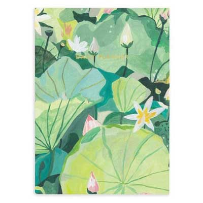Water Lilies Daily Journal