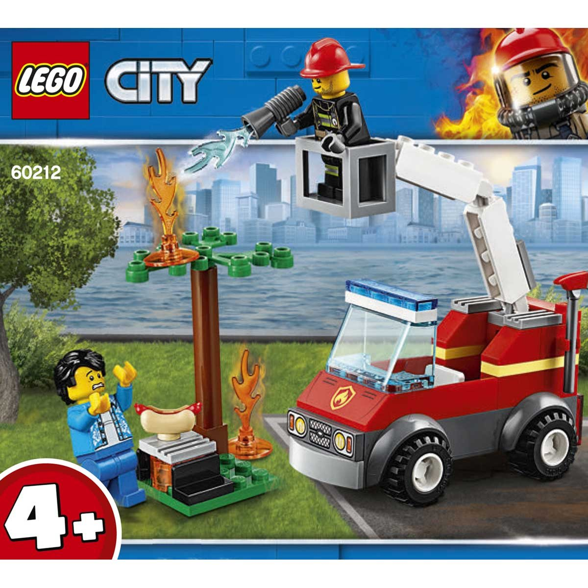 LEGO (R) Barbecue Burn Out: 60212