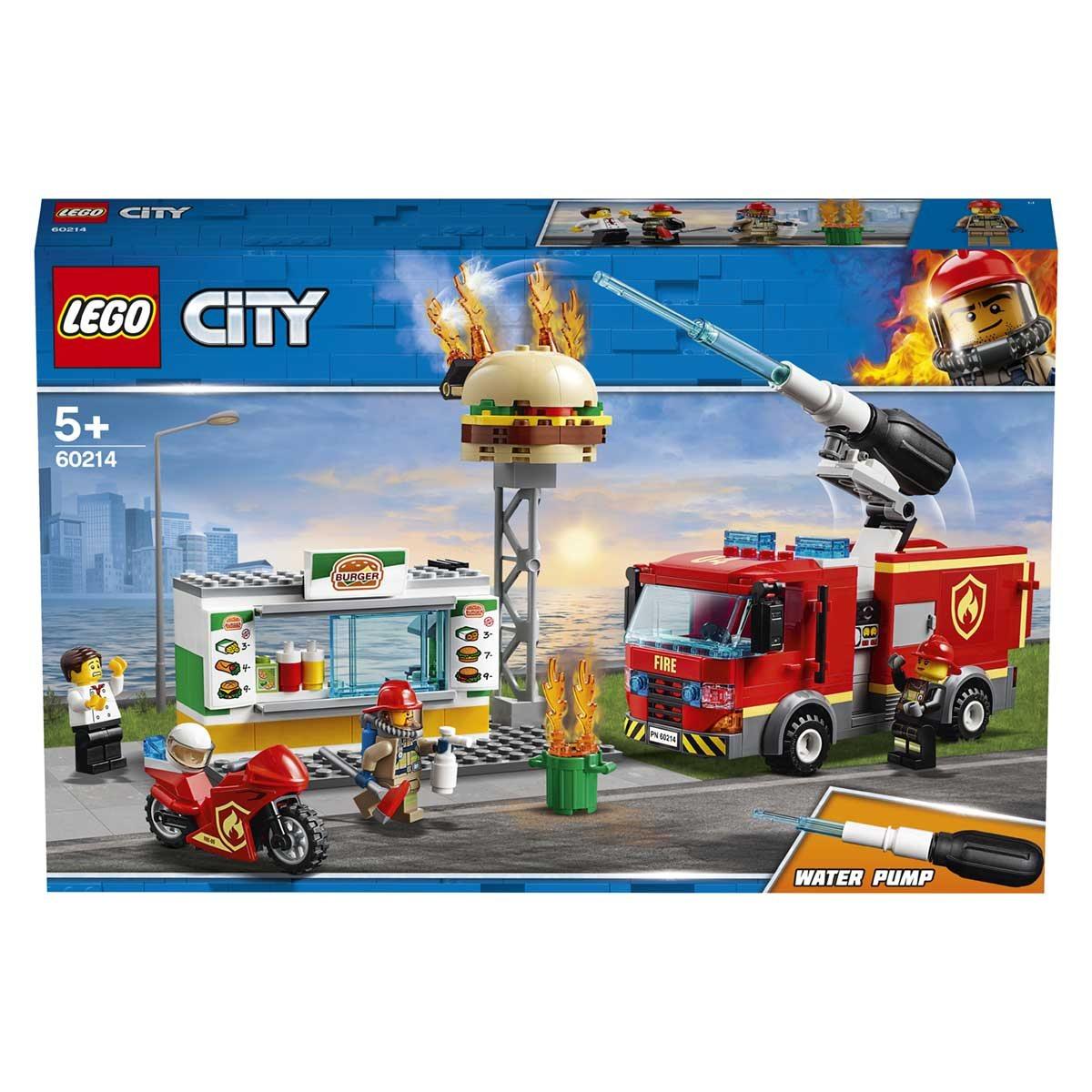 LEGO (R) Burger Bar Fire Rescue: 60214