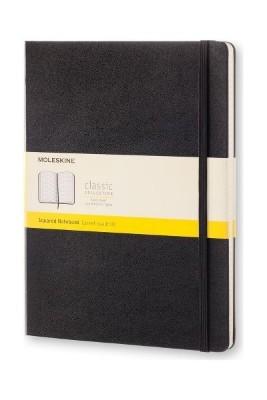 Black Squared Hard Notebook Xl
