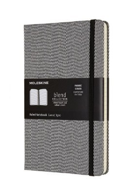 Blend Collection Blue Lined Notebook L