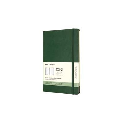 Myrtle Green Weekly 18m Hard Large Diary 2020-2021 (Diary)