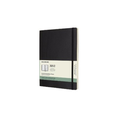 Black XL Weekly Softcover 18 Month Diary 2021-2022 (Diary)