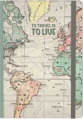 Travel Large Notebook