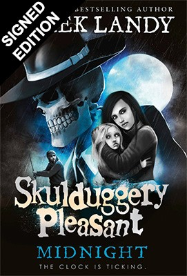 Cover of the book, Midnight (Skulduggery Pleasant, #11).